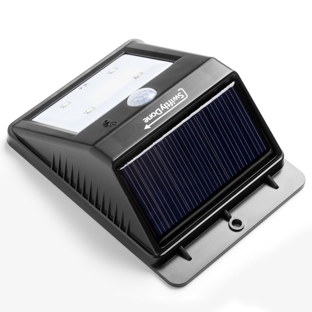 Led Outdoor Light Too Bright: Swiftly Done™ Bright Outdoor LED Light Solar Energy